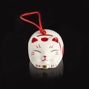 "Сувенир керамика колокольчик ""Манэки-нэко лежит"" МИКС 5,7х5,5х5 см 2325506"