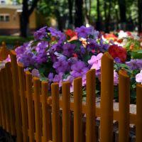 Забор декоративный Полимерсад-8 (цвет терракот)_1