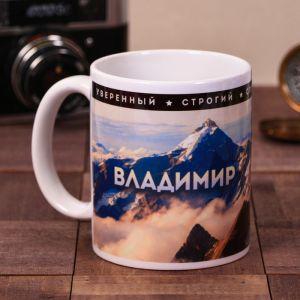 "Кружка ""Владимир"", 300 мл 4027725"
