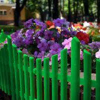 Забор декоративный Полимерсад-8 (цвет зелёный)_1