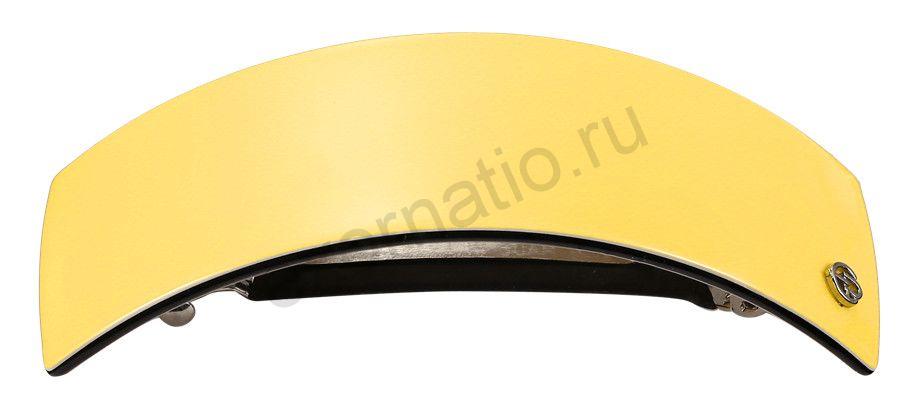 Заколка-автомат Evita Peroni 04697-707. Коллекция Basic Yellow