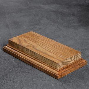 Подставка-подиум, 19 ? 10 см, массив дуб