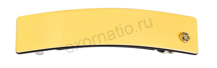 Заколка-автомат Evita Peroni 04707-707. Коллекция Basic Yellow