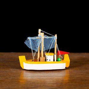 Корабль «Токива» 8х7х3см, микс 4 цвета   4415465