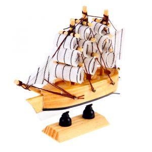 Корабль сувенирный малый «Аризона», микс, 3?10?10 см 452013