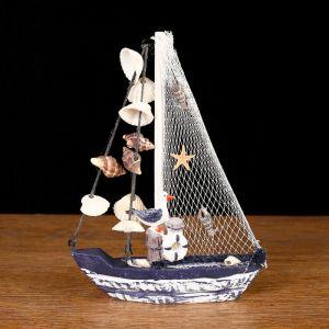 Яхта сувенирная малая «Ливадия», 14 ? 3,5 ? 18,5 см 947233