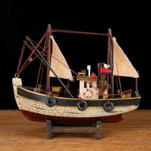Корабль 19х6х17см, рыболовецкое судно   4415463