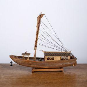 Лодка китайская «Сампан» 32х28х8 см   4415462
