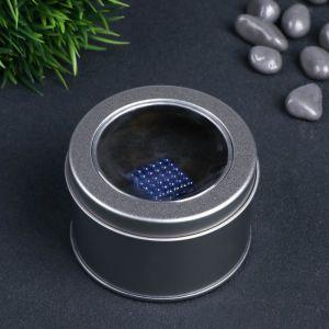 """Антистресс магнит """"Неокуб"""" 216 шариков d=0,3 см (синий) 1929176"""