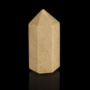 Призма из камня. Окаменелый коралл от 12х33мм/16г:коробка 1722281