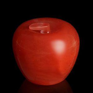 Яблоко от 52мм/220г, оранжевый кварц 1722612