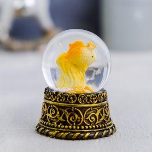 Снежный шар «Золотая рыбка», полистоун