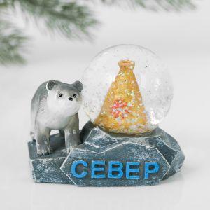 Снежный шар «Север. Чум»