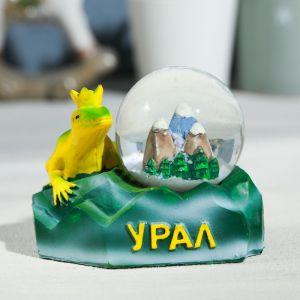 Снежный шар «Урал. Ящерка»