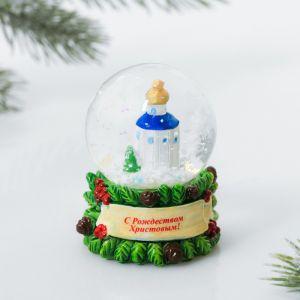 Снежный шар «Храм»