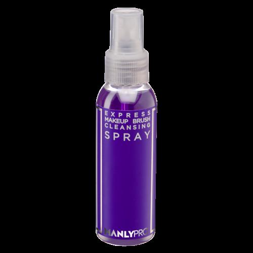 Очиститель для кистей для макияжа без спирта, спрей MANLY PRO