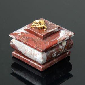 """Шкатулка """"Тюльпан"""", малая, 6,5х6,5х6 см, креноид 4204331"""