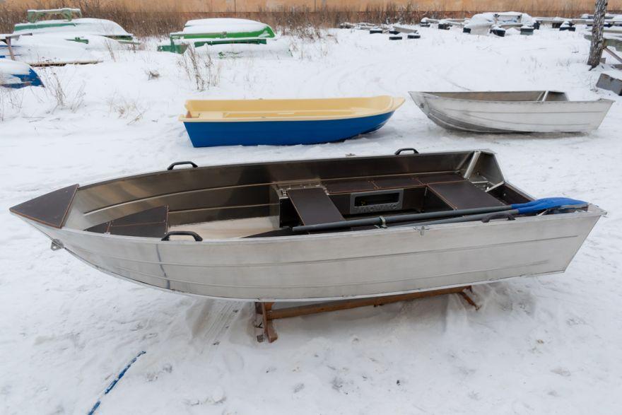 Лодка ВИЗА Алюмакс-355 ПРО