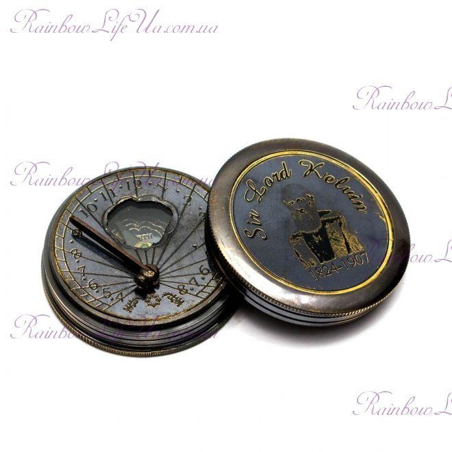 Часы солнечные с компасом