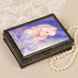 Шкатулка «Принцесса», 10?14 см, лаковая миниатюра 2407453