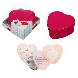 """Шкатулка с наклейками """"Любимой мамочке"""" в подарочной коробке"""