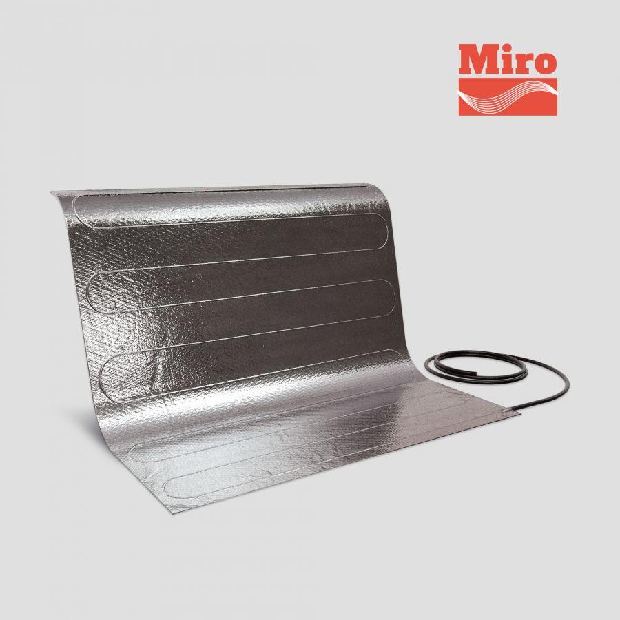 Нагревательный электрический мат под ламинат/паркет Miro 12.0-1800 Вт (площадь обогрева 12 м2)