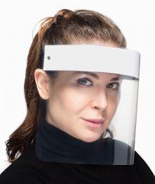 Защитный экран для лица «FACE SHIELD» № 1, белый