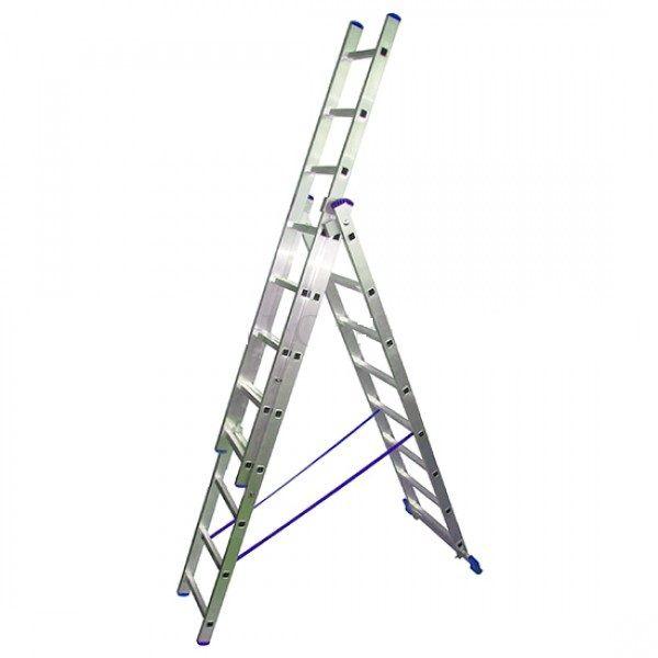 Лестница стремянка трёхсекционная LWI 3х14