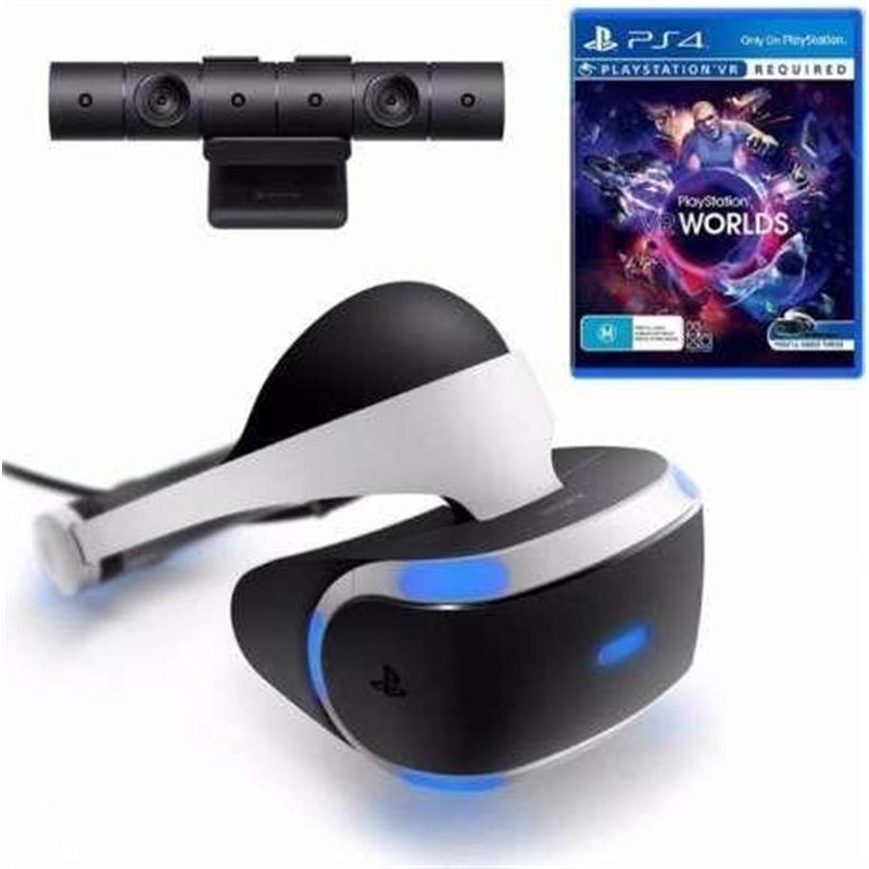 Sony PLAYSTATION VR ( CUH-ZVR2 ) + Камера + Игра VR Worlds