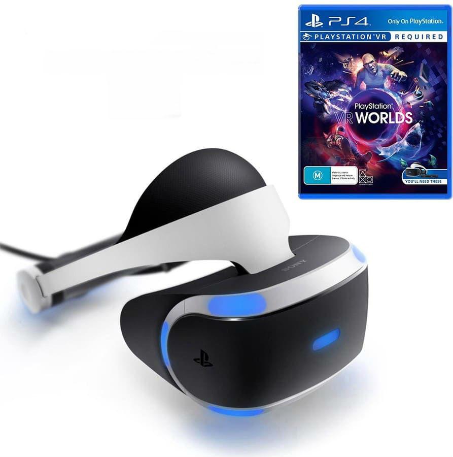 Шлем виртуальной реальности Sony PlayStation VR (CUH-ZVR2) + Игра VR Worlds