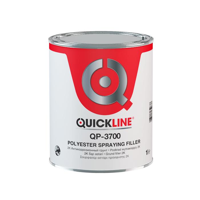 Quickline Жидкая ПЭ шпатлевка, объем 1л.