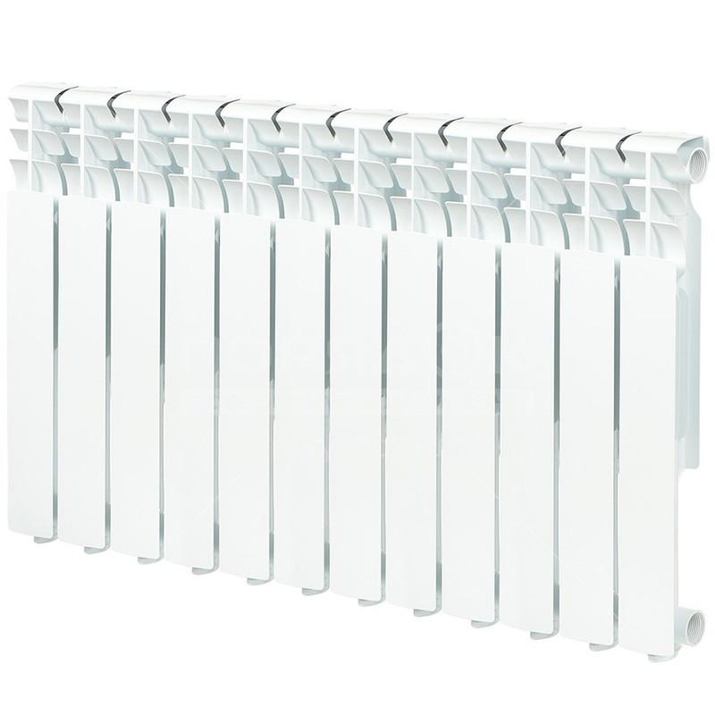 Радиатор алюминевый AQUAPROM A21 (500х80х80) 12 секций