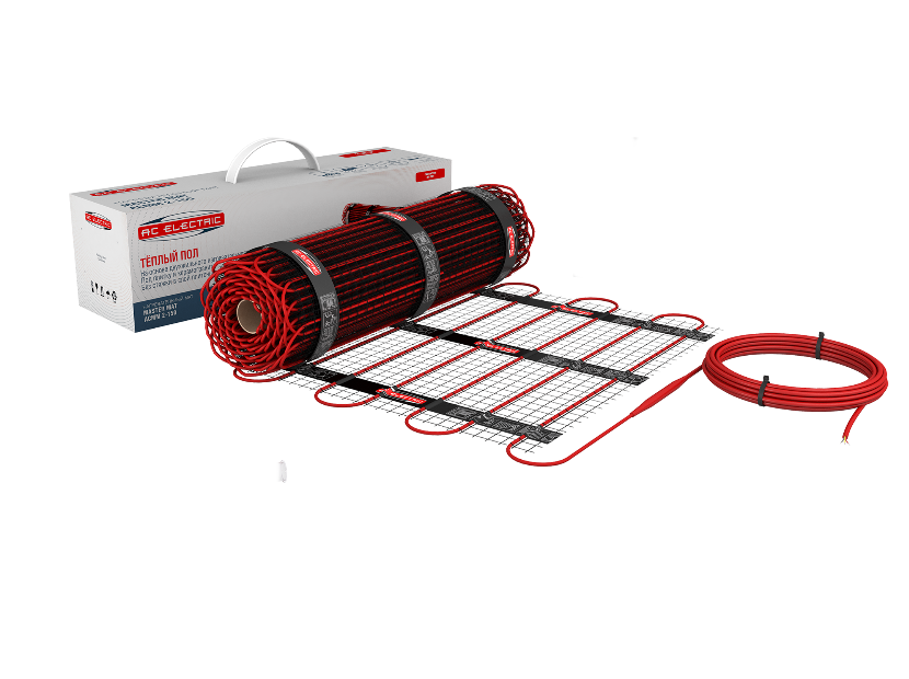 Нагревательный мат AC Electric ACMM 2-150 0.5м2 75Вт