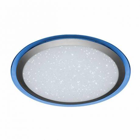 Управляемый светодиодный (LED) светильник с пультом ARION 60W RGB R-535-SHINY/SILVER-220-IP44/2019