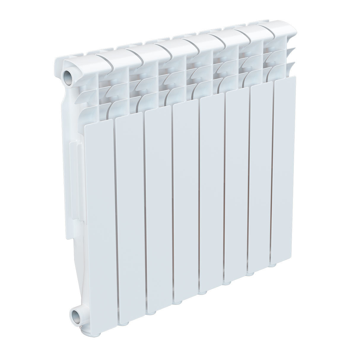 Радиатор алюминевый AQUAPROM A21 (500х80х80) 8 секций