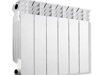 Радиатор алюминевый AQUAPROM AQ-350A-V7 (350х80х80) 10 секций