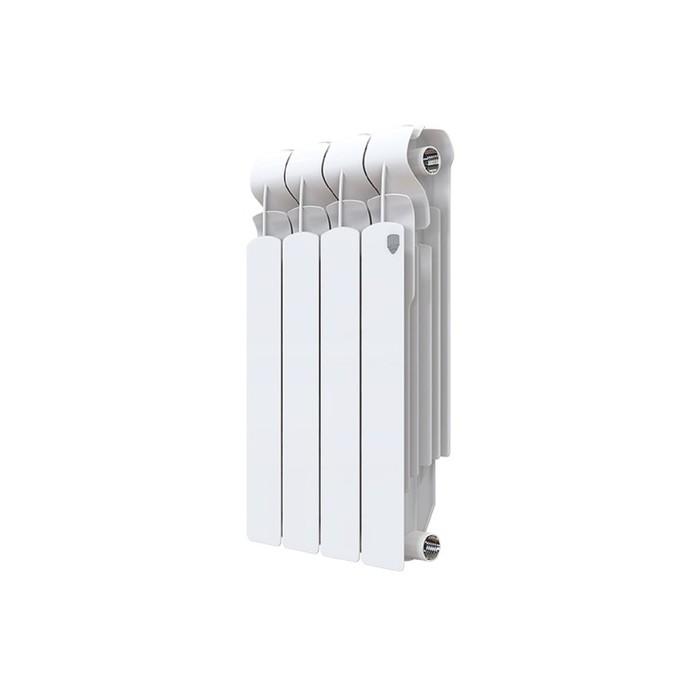 Радиатор алюминиевый Royal Thermo Revolution 500х80х80 4 секций