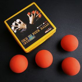 Шары для манипуляции 41 мм One to Four Balls (резина)