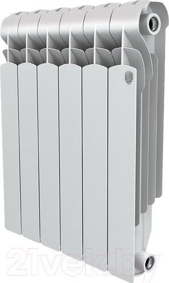 Радиатор алюминиевый Royal Thermo Revolution 500х80х80 6 секций