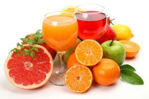 Соки в ассотименте (грейпфрут, апельсин, яблоко, томат, вишня) 1л