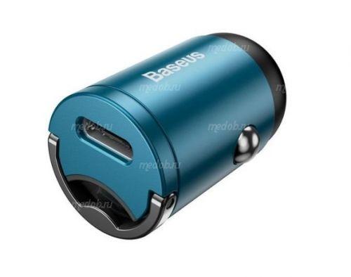 Автомобильное зарядное устройство Baseus Tiny Star Mini PPS Car Charge Type-C Port 30W Blue VCHX-B03