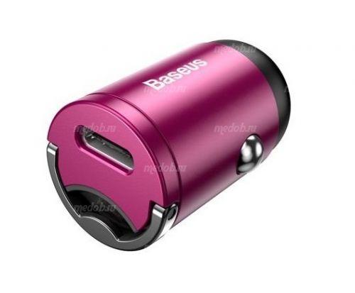 Автомобильное зарядное устройство Baseus Tiny Star Mini PPS Car Charge Type-C Port 30W Pink VCHX-B04