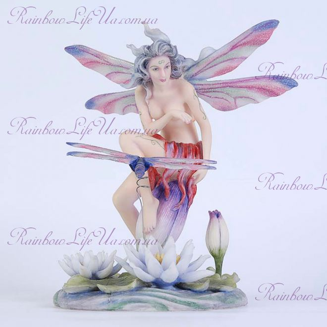 "Статуэтка Юная бабочка на листке ""Veronese"""