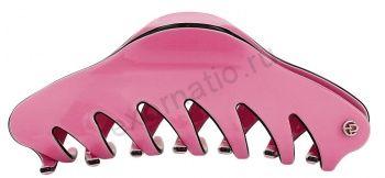 Заколка-краб Evita Peroni 20335-294. Коллекция Large Basic Dk.pink