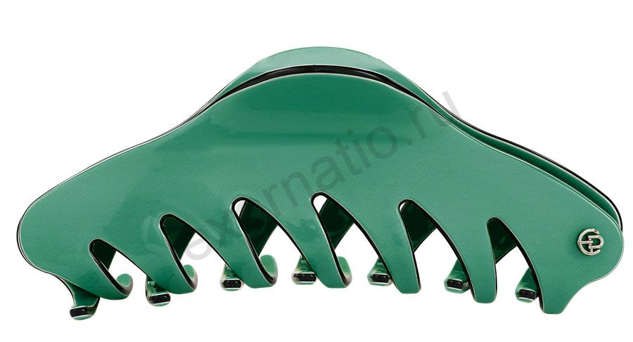 Заколка-краб Evita Peroni 20335-326. Коллекция Large Basic Green