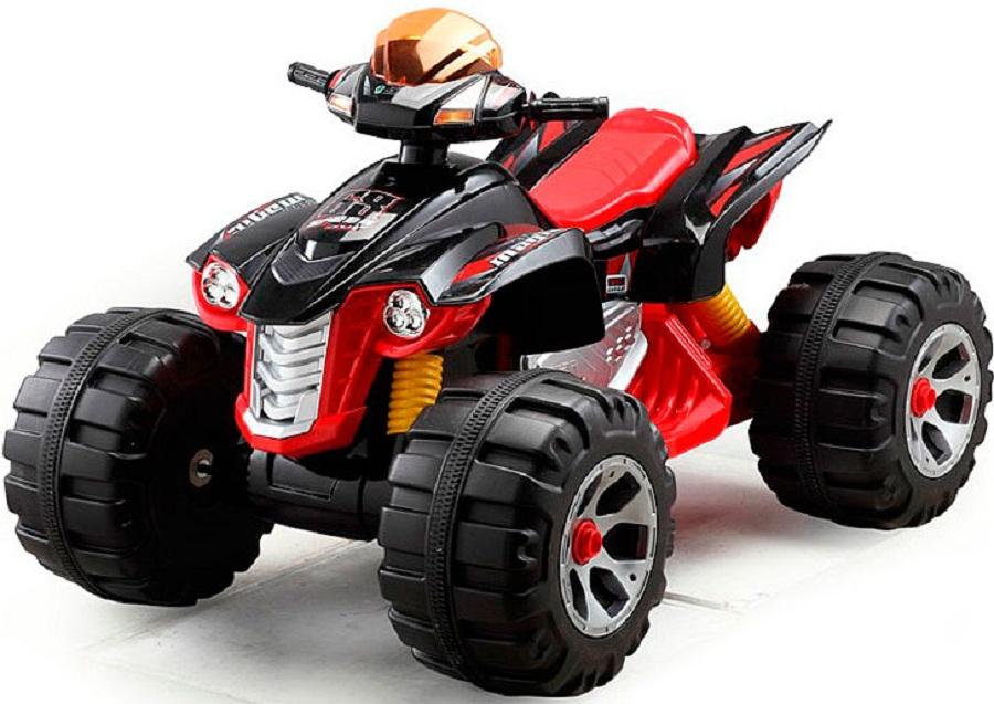 Детский электромобиль (2020) JS318 (12V, колесо пластик) красный