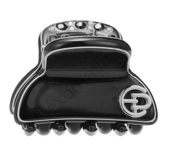 Заколка-краб Evita Peroni 20362-496. Коллекция Mini Basic Black