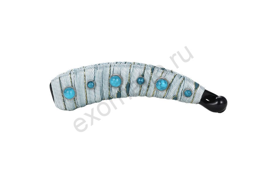 Заколка-банан Evita Peroni 31542-803. Коллекция Miracle Aquamarine