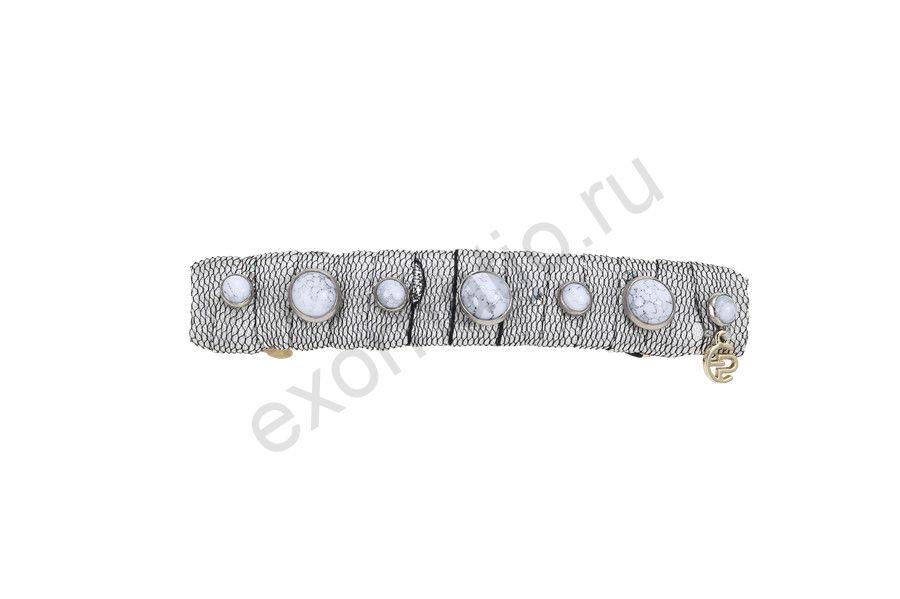 Заколка-автомат Evita Peroni 31543-093. Коллекция Miracle Opal white