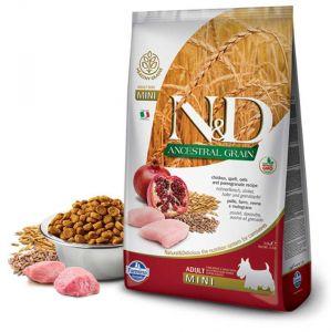 Farmina N&D ANCESTRAL GRAIN д/с MINI курица, спельта, овес, гранат